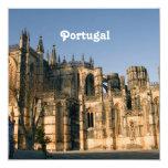 Portugal Architecture 5.25x5.25 Square Paper Invitation Card