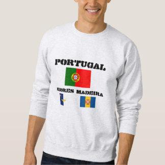 Portugal, Azores, Madeira señala la camiseta por Sudadera Con Capucha