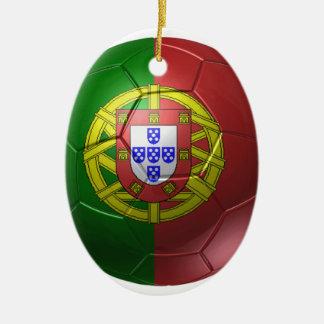 Portugal ball ceramic ornament