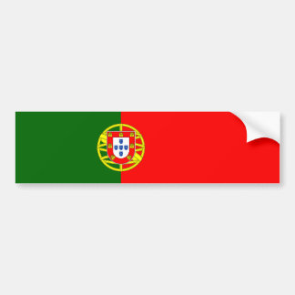 Portugal/bandera portuguesa pegatina de parachoque