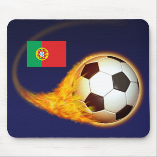 Portugal Blazing Soccer Mouse Mats