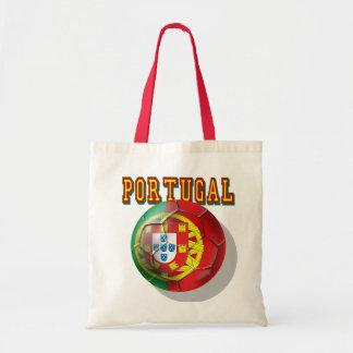 """""""Portugal"""" Bola por Portugueses Budget Tote Bag"""