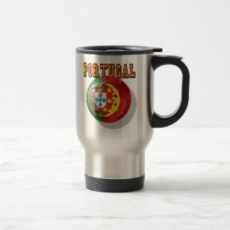 """""""Portugal"""" Bola por Portugueses Travel Mug"""