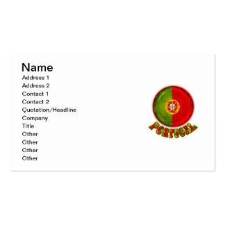 Portugal Double-Sided Standard Business Cards (Pack Of 100)