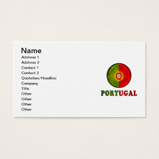 Portugal Business Card