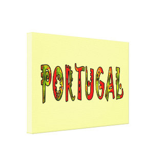 Portugal Stretched Canvas Print