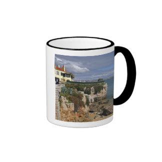 Portugal Cascais Praia da Rainha a beach in 2 Coffee Mugs
