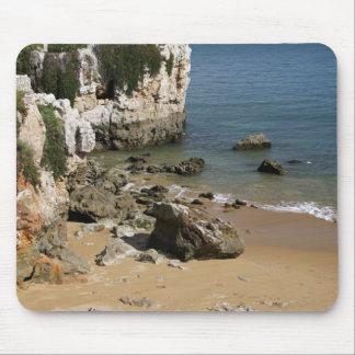 Portugal, Cascais. Praia da Rainha, a beach in Mouse Pad