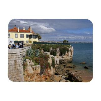 Portugal, Cascais. Praia DA Rainha, una playa en 2 Imán Rectangular