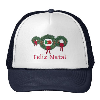 Portugal Christmas 2 Mesh Hat