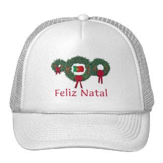Portugal Christmas 2 Mesh Hats
