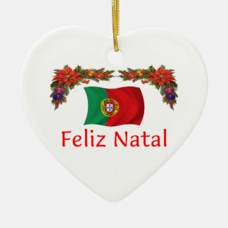 Portugal Christmas Ceramic Ornament