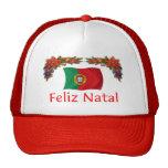 Portugal Christmas Mesh Hat