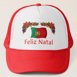 Portugal Christmas Trucker Hat