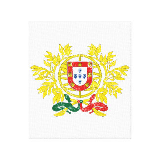 Portugal Coat Of Arms Canvas Print