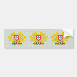 Portugal Coat of Arms detail Bumper Sticker