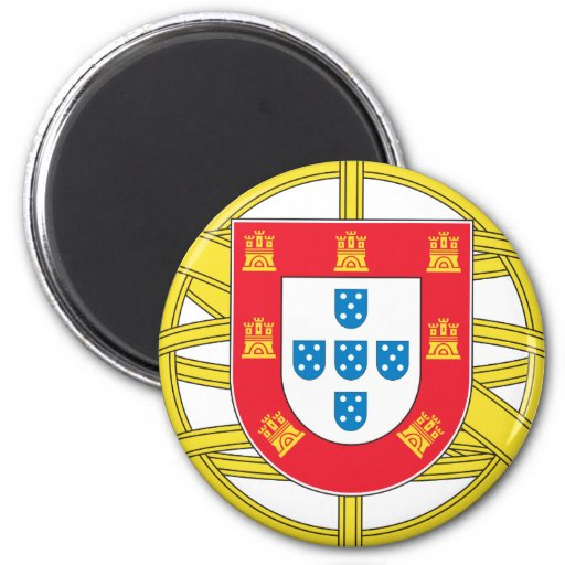 Portugal - Coat Of Arms Fridge Magnets