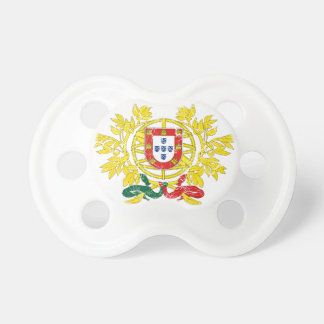 Portugal Coat Of Arms Pacifier