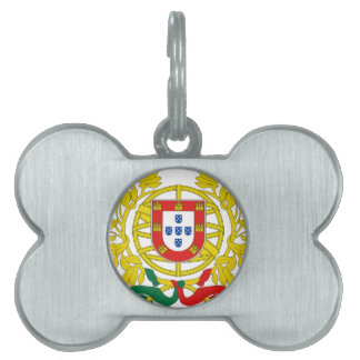 Portugal Coat of Arms Pet Tag