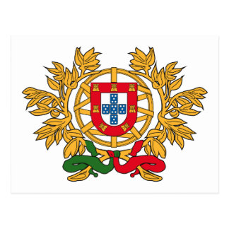 Portugal Coat of Arms Postcard
