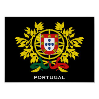 Portugal Coat of Arms Poster