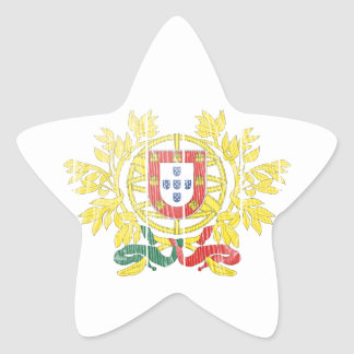 Portugal Coat Of Arms Star Stickers