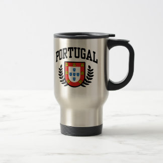 Portugal Coat of Arms Travel Mug