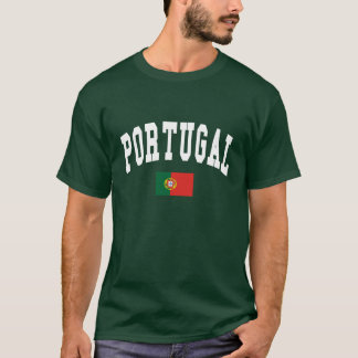 Portugal College Style T-Shirt