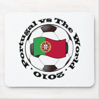 Portugal contra el mundo tapetes de ratones