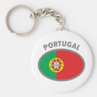 Portugal Cool Flag Design! Basic Round Button Keychain