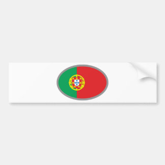 Portugal Cool Flag Design! Bumper Sticker