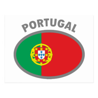 Portugal Cool Flag Design! Postcard