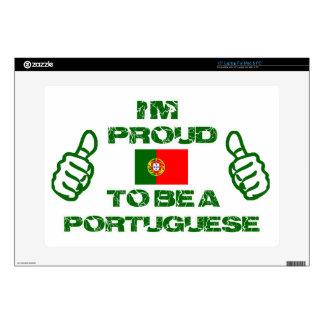 "Portugal design 15"" laptop skin"