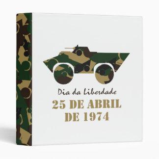 Portugal, Dia da Liberdade (Freedom Day) 3 Ring Binders