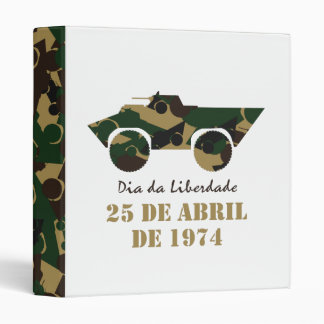 Portugal, Dia da Liberdade (Freedom Day) Binder