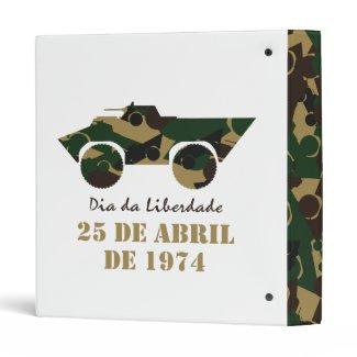 Portugal, Dia da Liberdade (Freedom Day) Vinyl Binders