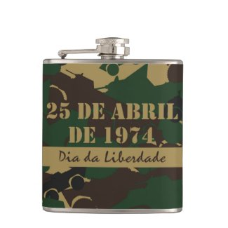 Portugal, Dia da Liberdade or Freedom Day Flask