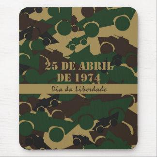 Portugal, Dia da Liberdade or Freedom Day Mouse Pad