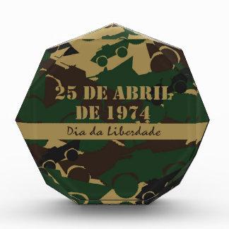 Portugal, diámetro DA Liberdade o día de la
