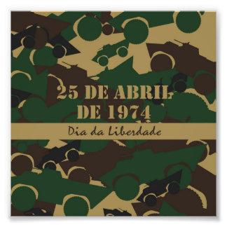 Portugal, diámetro DA Liberdade o día de la Cojinete