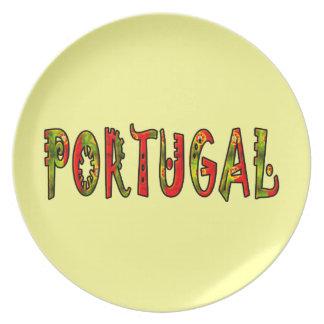Portugal Dinner Plate