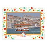 Portugal en fotos - Lisboa del río Tarjeta Postal