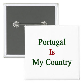 Portugal es mi país pins