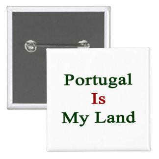 Portugal es mi tierra pin