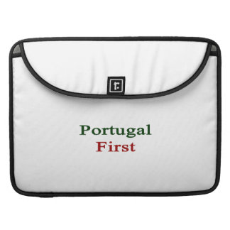 Portugal First MacBook Pro Sleeve