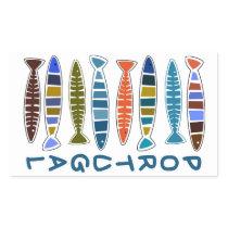 PORTUGAL Fish Pattern stickers