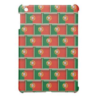 Portugal flag 3D pattern iPad Mini Cover