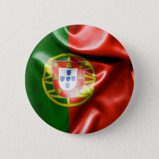 Portugal Flag 6 Cm Round Badge Button