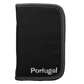 Portugal flag and football planners