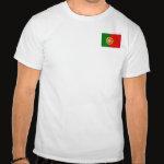 Portugal Flag Map Basic T-Shirt